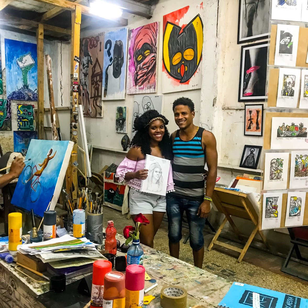 Art studio, Old Havana